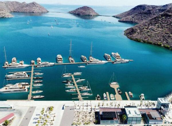 Where is Marina in Puerto Escondido Baja California
