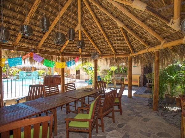Las Cabanas de Loreto Common areas